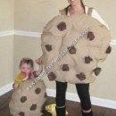 Homemade Mom and Baby Cookies Halloween Costume Idea