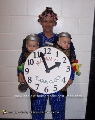 Homemade Mommy's Alarm Clock Costume