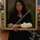 Homemade Mona Lisa Halloween Costume Idea