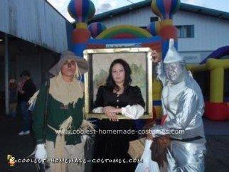 Homemade Mona Lisa Halloween Costume Idea