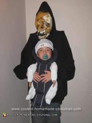 Homemade Monster Babysitter Halloween Costume