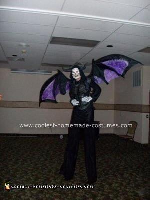 Homemade Monster Halloween Costume