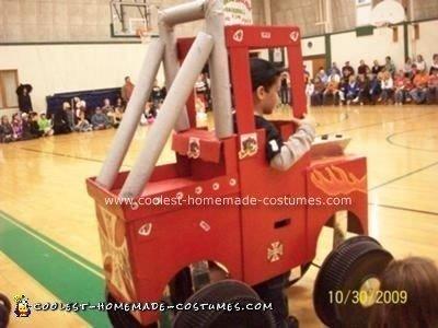 Homemade Monster Truck Costume