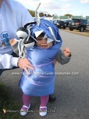Homemade Monster's Inc Boo Costume