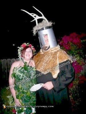 Homemade Monty Python's Spamalot Couple Costume