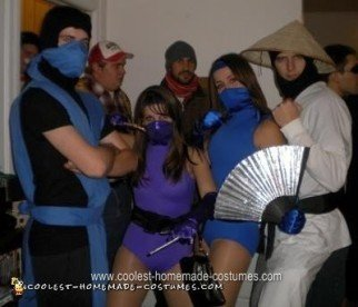Homemade Mortal Kombat Halloween Costume Ideas
