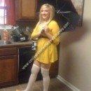 Homemade Morton Salt Girl Costume