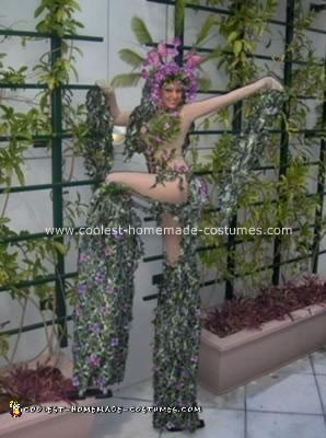 Homemade Mother Nature Costume