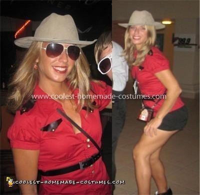 Coolest Homemade Mountie Costume