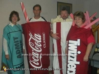 Homemade Movie Package Group Halloween Costume Idea