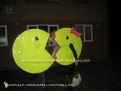 Homemade Mr. and Mrs. Pacman Costume