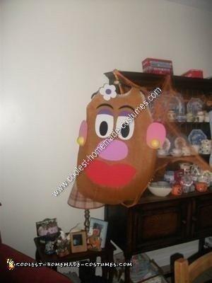 Homemade Mr. and Mrs. Potato Head Halloween Costume Idea