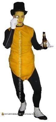 Homemade Mr. Peanut Costume