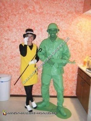 Homemade Mr. Peanut Halloween Costume Idea