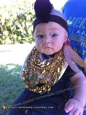 Homemade Mr T Baby Halloween Costume Idea