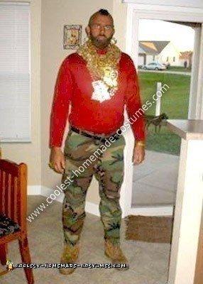 Homemade Mr. T Costume