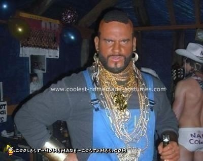 Homemade Mr T Costume