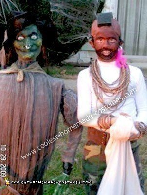 Homemade Mr. T Halloween Costume