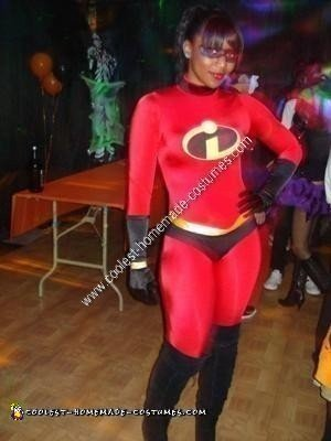 Homemade Mrs Incredible Sexy Halloween Costume Idea