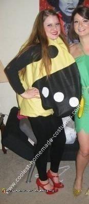 Homemade Mrs. Pacman Costume