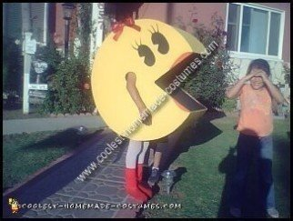 Homemade Ms Pacman Costume