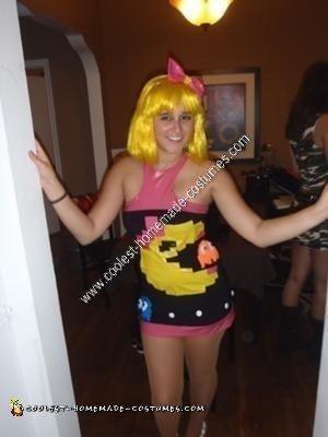 Homemade Ms. Pacman Sexy Halloween Costume Idea