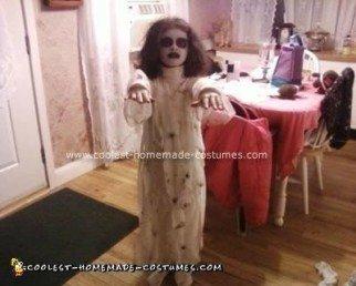 Homemade Mummy Bride Halloween Costume