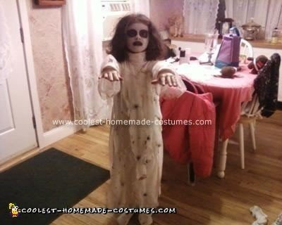 Homemade Mummy Bride Halloween Costume