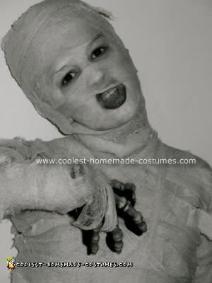 Homemade Mummy Costume