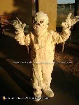 Homemade Mummy Halloween Costume