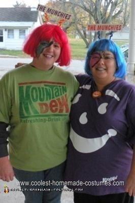 Homemade Munchies Couple Costume