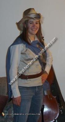Homemade Musketeer Costume