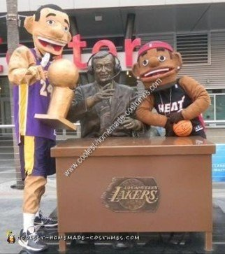 At Staples Center in Los Angeles
