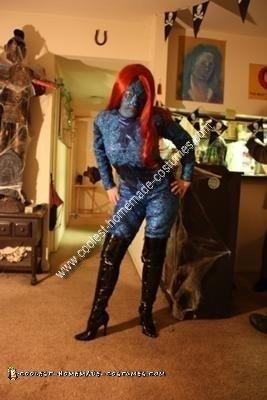 Homemade Mystique Costume