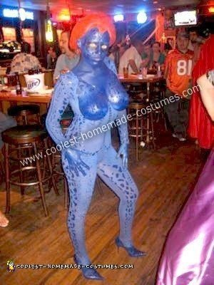 Homemade Mystique from X-Men Costume