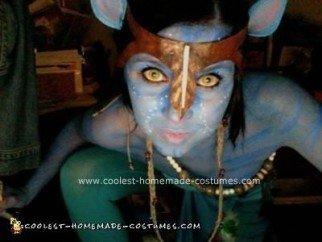 Homemade Na'vi Avatar Halloween Costume Idea