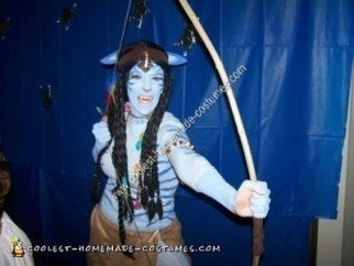 Homemade Navi from Avatar Costume