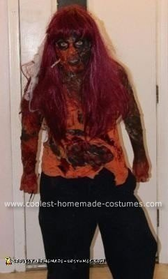 Homemade Night of the Living Dead Halloween Costume
