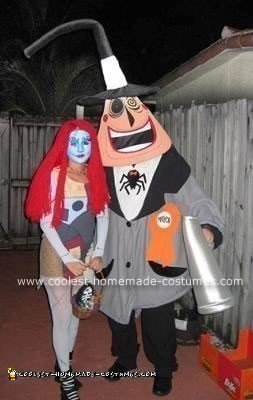 Mayor of Halloween Town and Sally Costumes