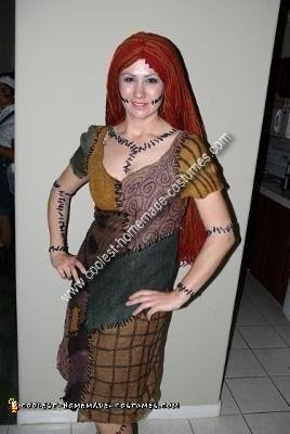 Coolest Homemade Nightmare Before Christmas Sally Adult