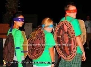Homemade Ninja Turtles Halloween Costumes
