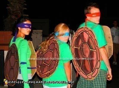 Homemade Ninja Turtles Halloween Costumes