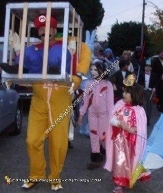 Homemade Nintendo Theme Costume Ideas