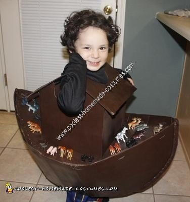 Homemade Noah's Ark Halloween Costume