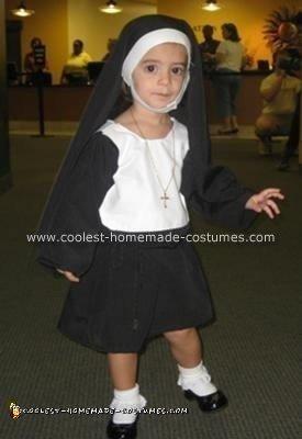Homemade Nun Halloween Costume