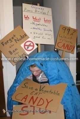 "Homemade ""Occupy Wall Street"" Costume"