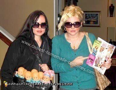 Homemade Octomom and Kate Gosselin Costumes