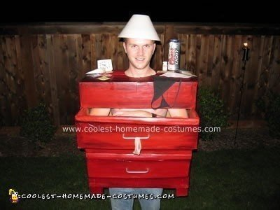 Homemade One Night Stand Halloween Costume