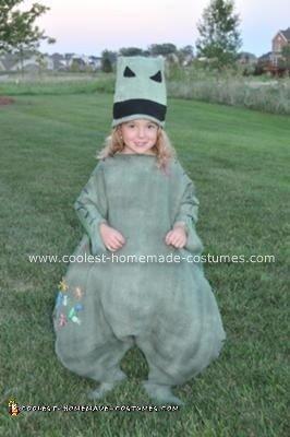 Homemade Oogy Boogy Costume