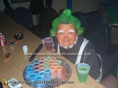 Homemade Ooompa Loompa Halloween Costume